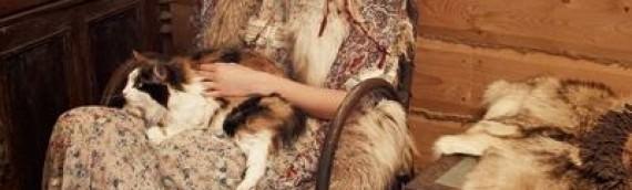 Съемки для журнала Vogue «Святая Рысь» 2011