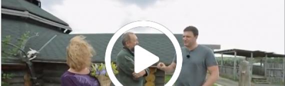 Виталий Сундаков и Славянский Кремль в передаче «Свои люди» на телеканале «Москва. Доверие»