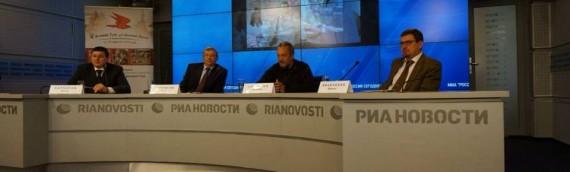Воспитание патриотизма в молодежной среде. Пресс-конференция В.Сундакова в РИА НОВОСТИ. Полная версия.