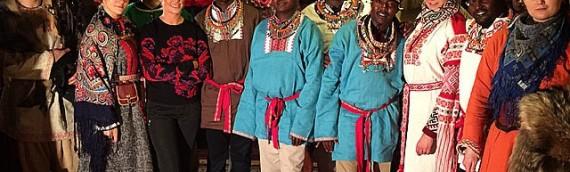«Масаи: из жары в холод», приключения масаев в России (видео)