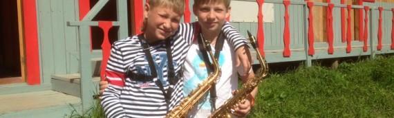 Вторая Лесная школа саксофона — лето 2016 года